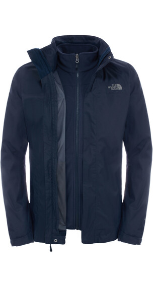 The North Face Evolve II Triclimate Jas Heren blauw